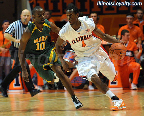 DJ Richardson, Peoria High,Findlay Prep,University of Illinois