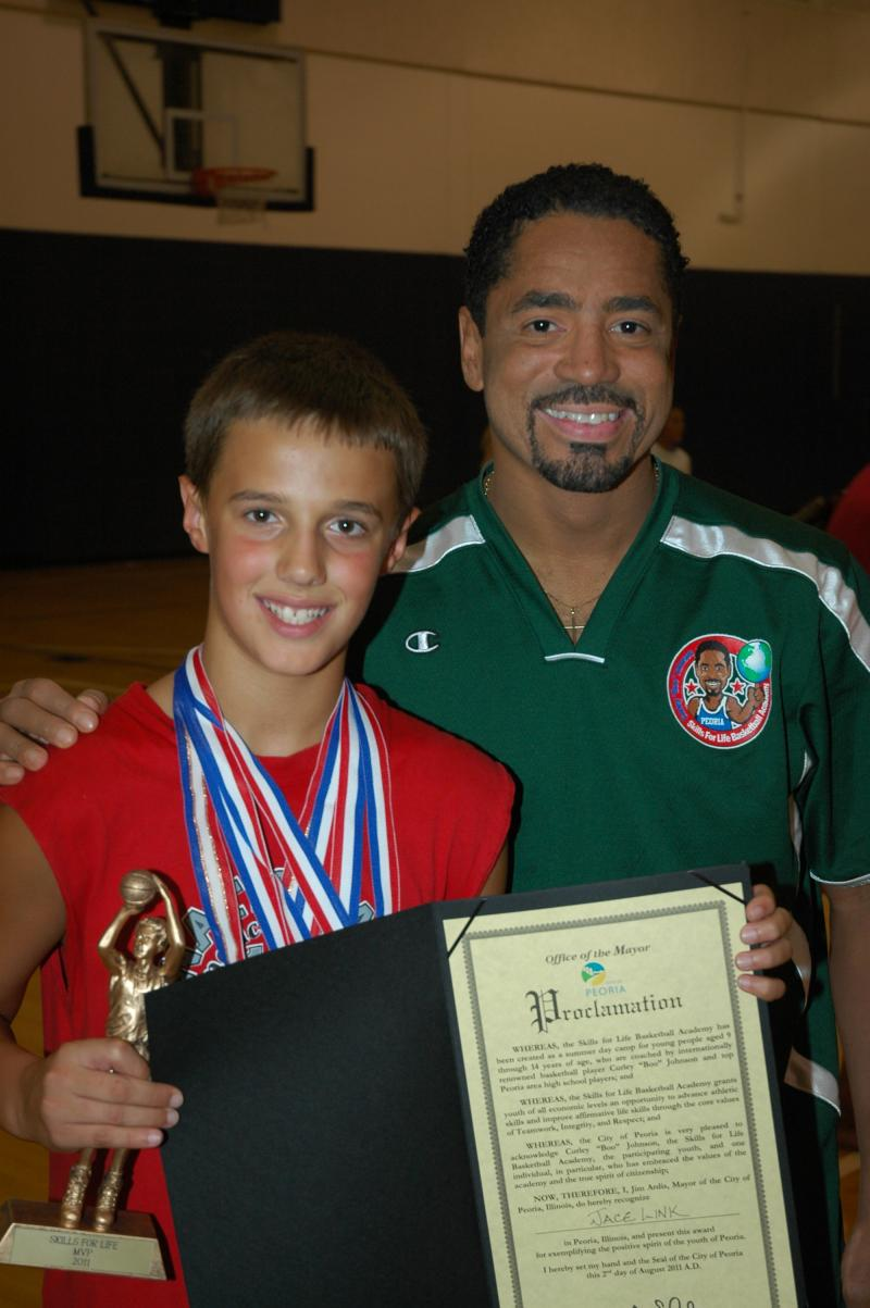 Jace Link,Most Outstanding Player,Hoop League Champion,Mayor Award, he won ever